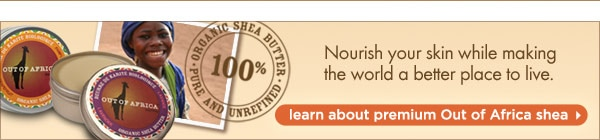 Lean about premium Out of Africa shea