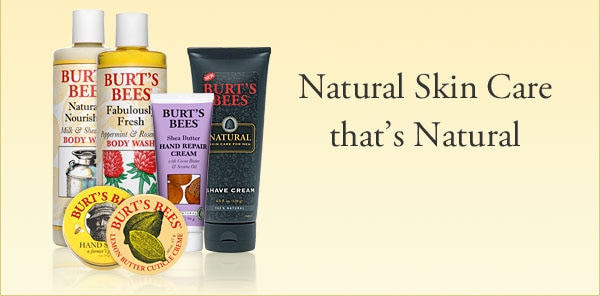 Natural Skin Care that's Natural