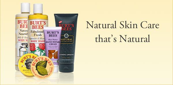 Natural Skin Care that's Natural