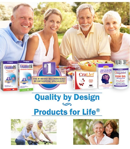 Nutramax Products for Life