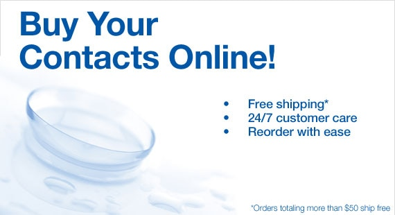 Buy Your Contacts Online   Searsopticalcontacts.com