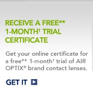 Receive a free 1-month trial certificate