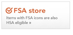 FSA store, items with FSA icons are also HSA eligible
