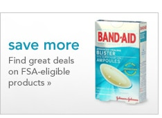 Save More and find great deals on FSA eligible products