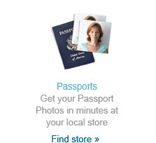 Get your Passport Photos in minutes at your local store