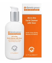 All-In=One Facial CLeanser with toner