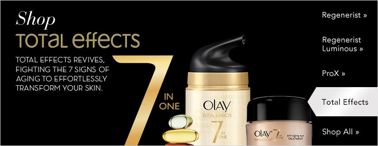 Shop Total Effects 7 in One   Fight the 7 signs of aging  to effortlessly transform your skin