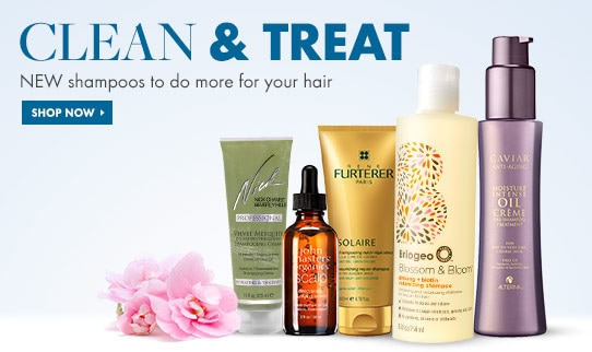 Shop for new shampoos