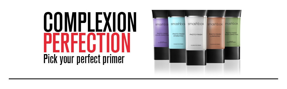 Smashbox Complexion Perfection. Pick your perfect primer. 