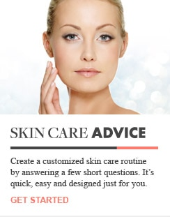 Get customized skin care product recommendations