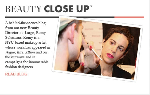 Beauty Close Up with Romy Soleimani