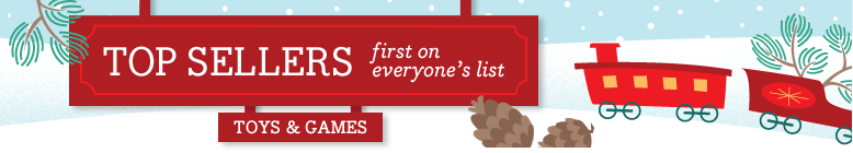 Top Sellers for Toys & Games first on everyone's list