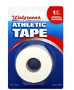 WALGREENS Athletic Tape