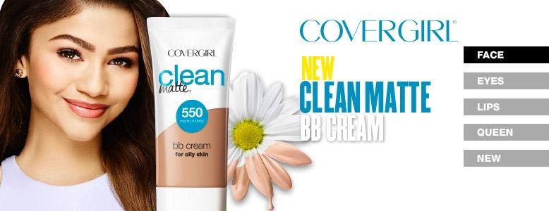Covergirl Face - New Clean Matte BB Cream