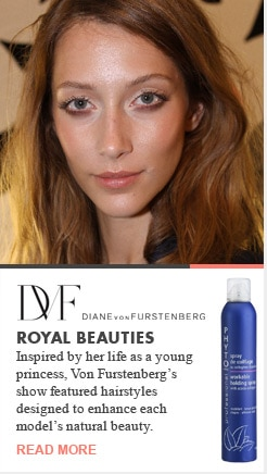 DVF Diane Von Furstenberg Royal Beauties Runway Recap Spring 2013