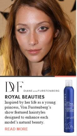 DVF Diane Von Furstenberg Royal Beauties Runway Recap Spring 2013