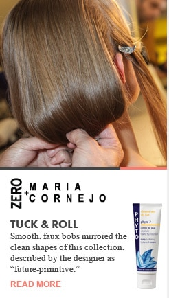 Zero + Maria Cornejo Tuck & Roll Runway Recap Spring 2013