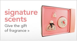 signature scents - give the gift of fragrance