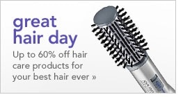 great hair day - up to 60% of hair care products for your best hair ever