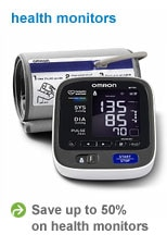 Save up to 50% on health monitors