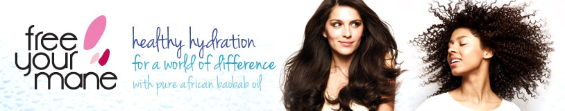free your mane - healthy hydration for a world of difference