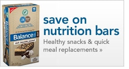 save on nutritional bars healthy snacks and quick meal replacements