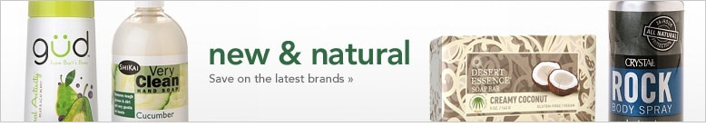 Natural personal care products
