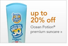 Ocean Potion suncare promotion