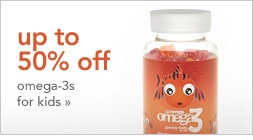 up to 50% off Omega-3s for children