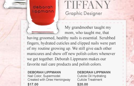 Tiffany, Graphic Designer