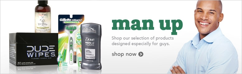 shop our selection of products designed especially for guys