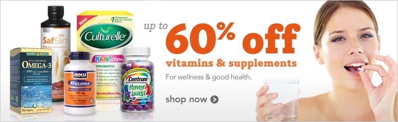 save on vitamins and supplements