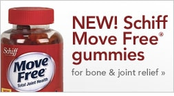 New! Schiff Move Free gummies for bone and joint relief