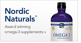 Nordic Naturals award winning omega-3 supplements