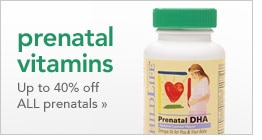 up to 40% off all prenatal vitamins