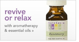 revive or relax with aromatherapy & essential oils