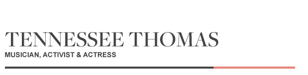 Guest Editor Tennessee Thomas