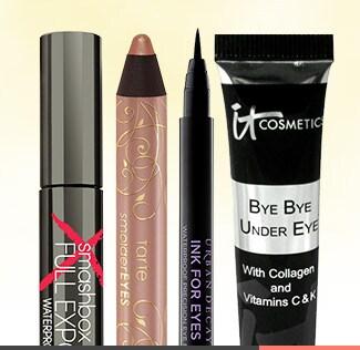 Dip into makeup that's ready to make a splash