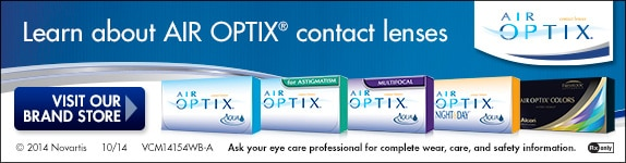 Click here to learn about Air Optix contact lenses!