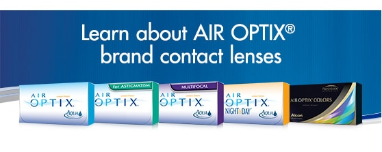 Learn about Air Optix brand contact lenses