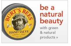 green & natural beauty products