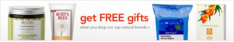 natural gifts with purchase