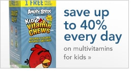 save on multivitamins for kids
