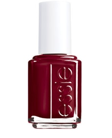 essie red nail lacquer