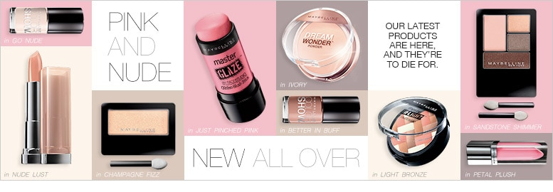 Maybelline's Latest Products | Pink and Nude