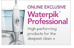 online exclusive Waterpik Professional high-performing products
