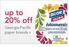 up to 20% off Georgia-Pacific paper brands