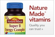 Nature Made Vitamins quality you can trust