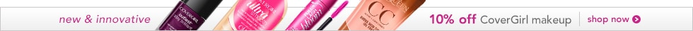 new and innovative, 10% off CoverGirl makeup shop now