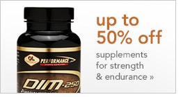 u p to 50% off supplements for strength & endurance